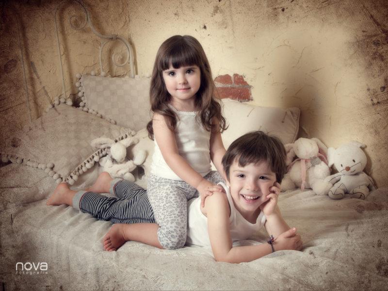 fotografia, niños, estudio