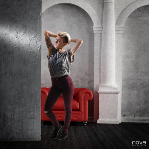 Book, fotografía de estudio, modelo, arcos