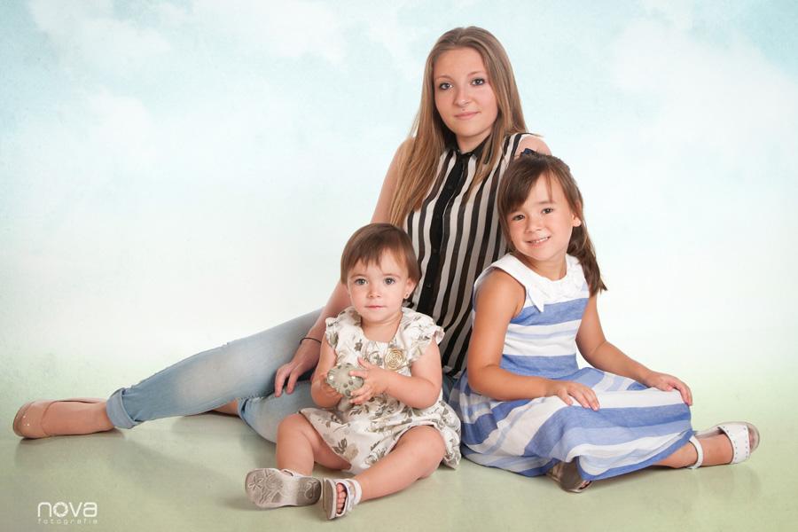 fotografía de estudio Zaragoza, familia