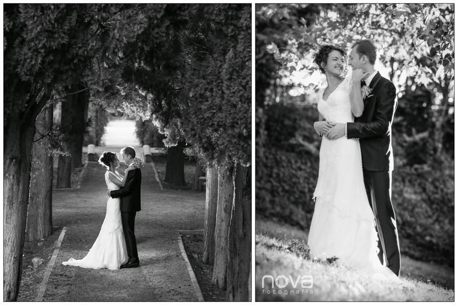 fotos de boda en el parque Labordeta de Zaragoza