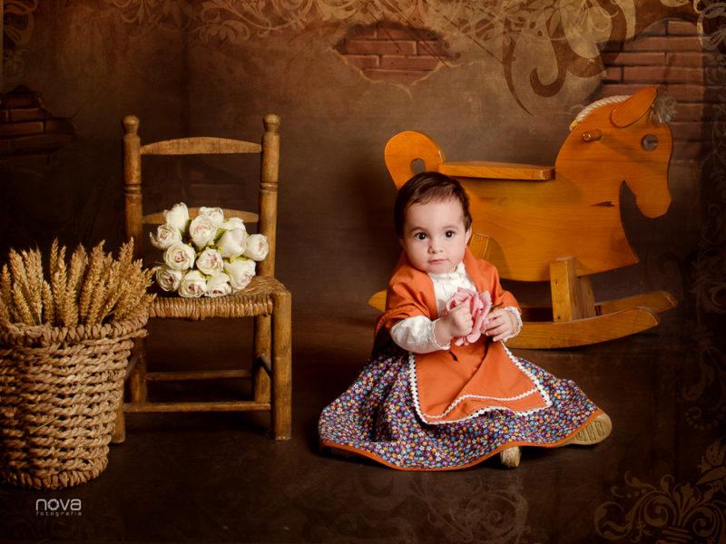 fotografia, niños, estudio, baturro, niña, baturra, traje regional