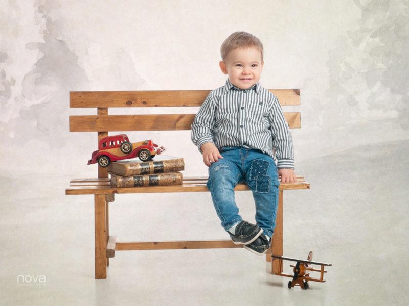 foto estudio niño