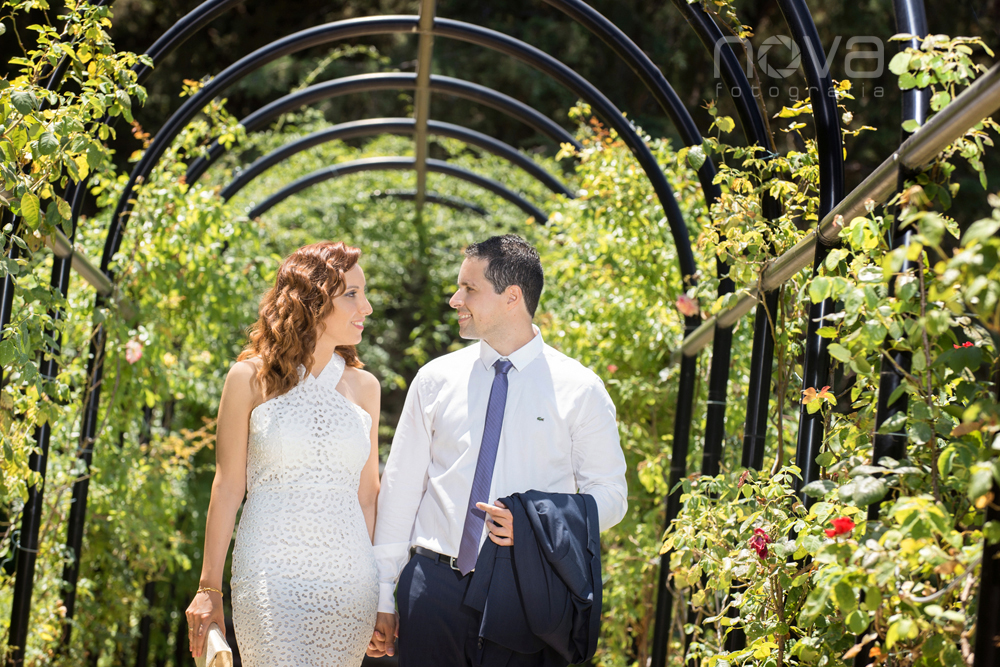 Reportaje de boda en el parque