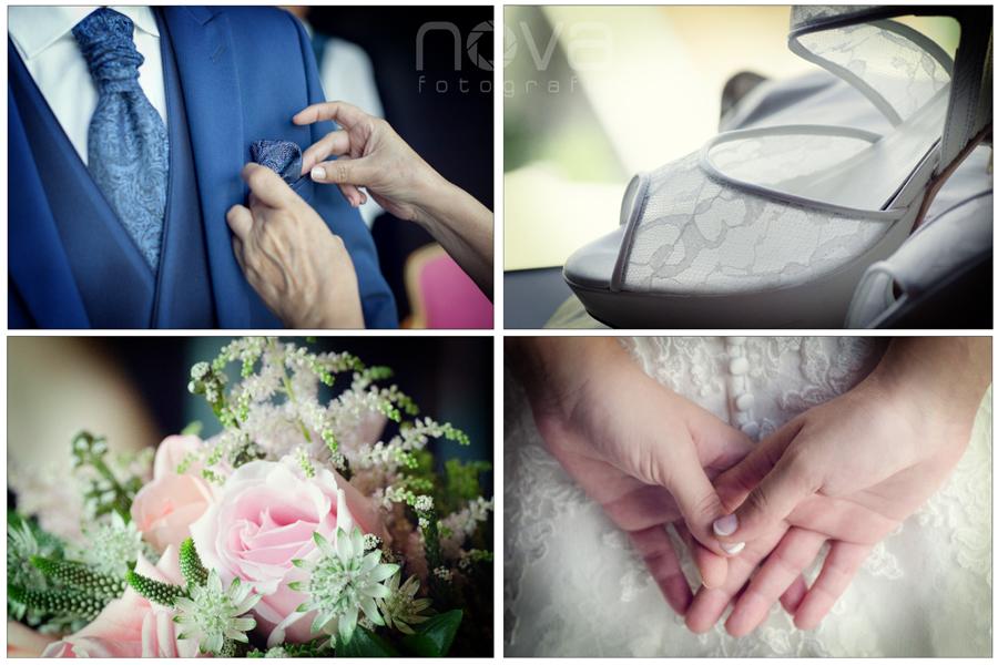 Fotos de detalles de boda