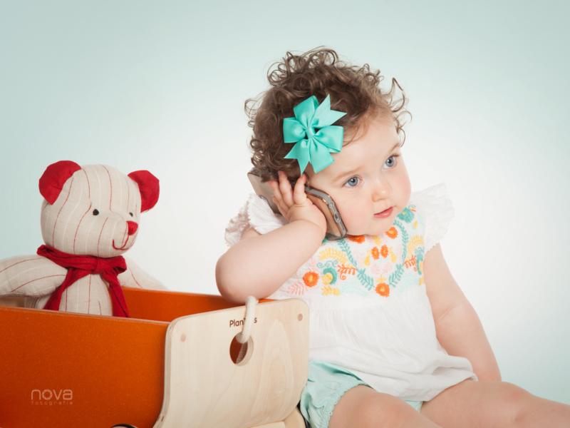 foto estudio niña